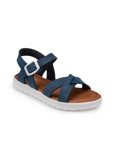 Polaris 91.508159.P Lacivert Kız Çocuk Sandalet Lacivert
